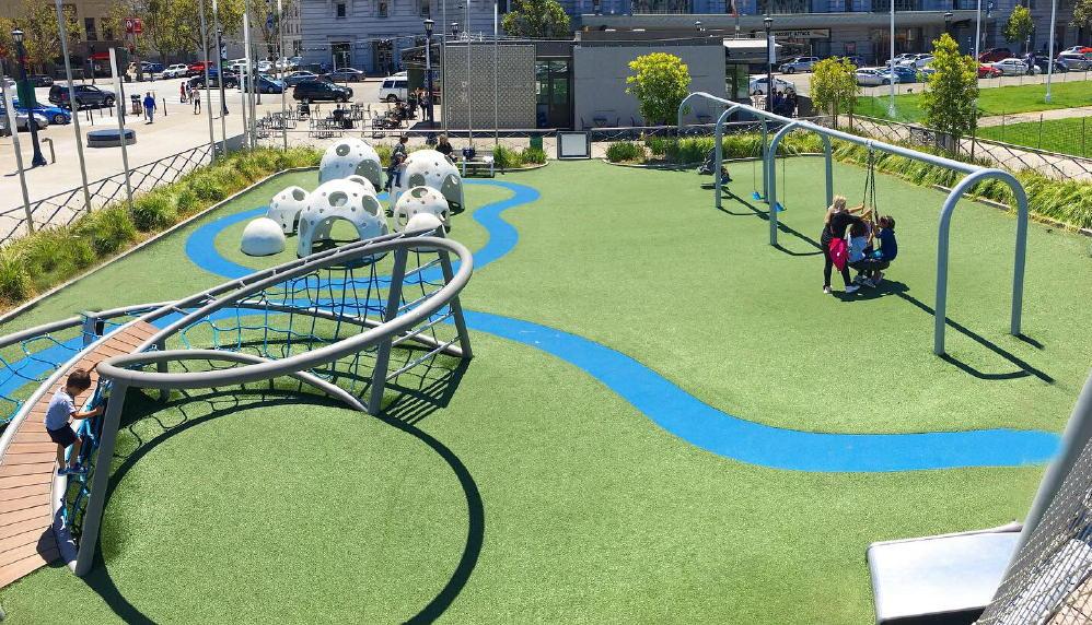 Helen Diller Playground San Francisco