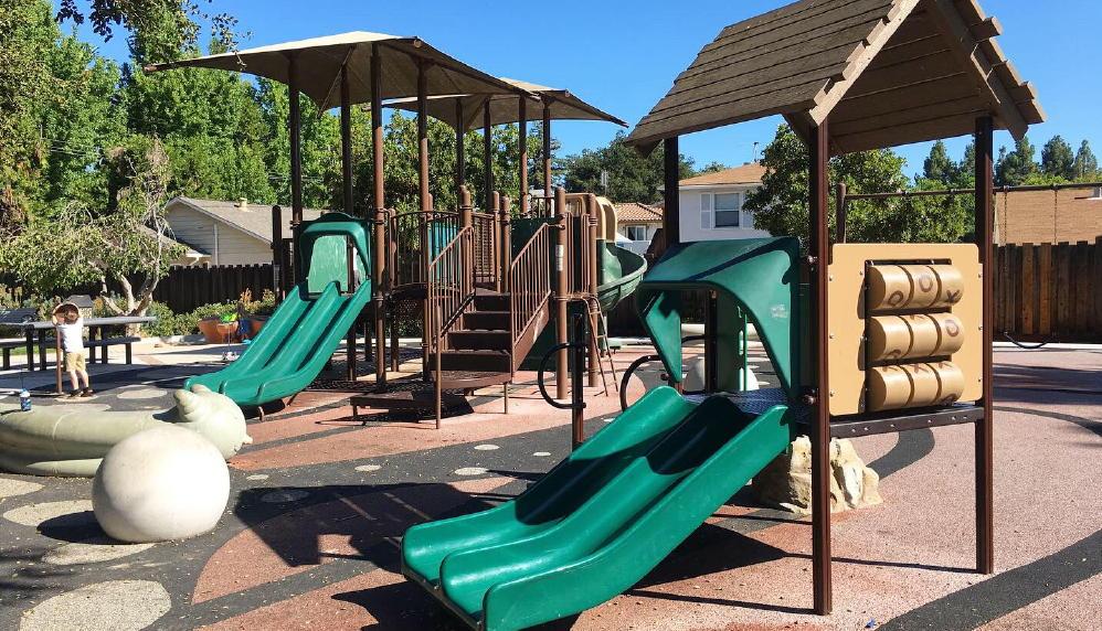 Mariposa park baby slide playground