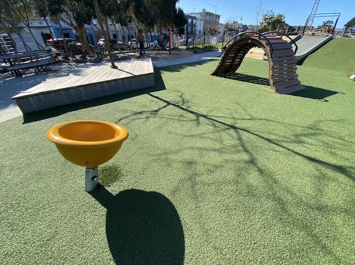 Moscone east playground