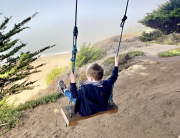grey whale cove beach swing