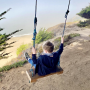 grey whale cove beach swing